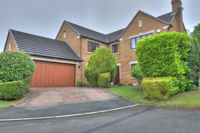 Thumbnail Detached house for sale in Steynton Close, Bolton