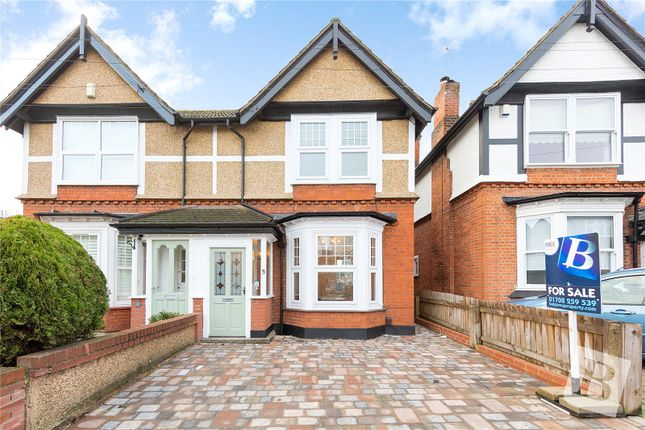 Thumbnail Semi-detached house for sale in Gaynes Road, Upminster