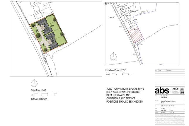 Thumbnail Land for sale in Tan Lane, Little Clacton, Clacton-On-Sea