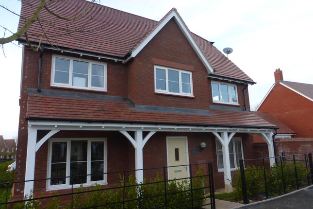 Thumbnail Detached house to rent in De Morgan Crescent, Tadpole Garden Village, Swindon