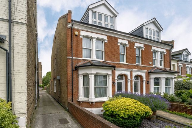 Thumbnail Semi-detached house to rent in Sandycombe Road, Kew, Richmond, Surrey