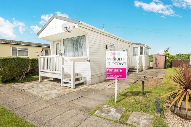 Thumbnail Mobile/park home for sale in South Avenue, Whitehaven Park, Ingoldmells, Skegness