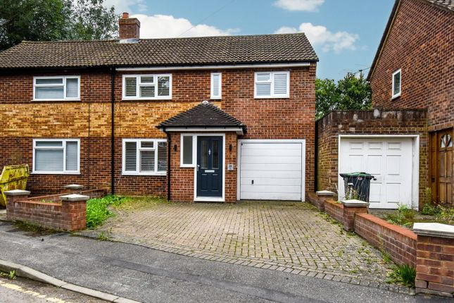 Thumbnail Semi-detached house for sale in Elm Close, Takeley, Bishop's Stortford