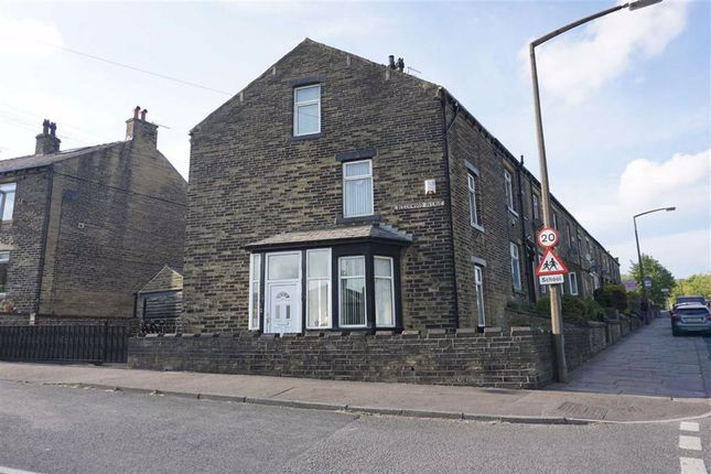 Thumbnail 3 bed end terrace house for sale in Beechwood Avenue, Holmfield, Halifax