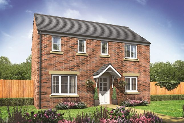 "Thumbnail Detached house for sale in ""The Clayton"" at Clehonger, Hereford"