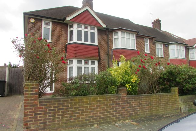 Thumbnail Terraced house to rent in Southpark Crescent, London