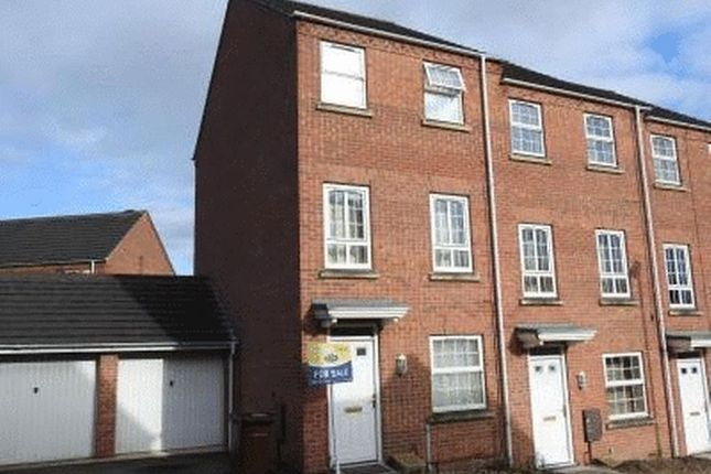 Thumbnail Semi-detached house to rent in Three Bedroom, Three Storey House, Bestwood Nottingham