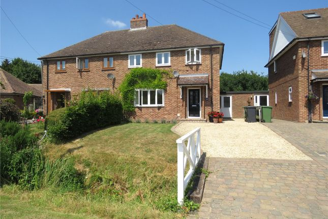 3 bed semi-detached house to rent in Caxton End, Eltisley, St. Neots, Cambridgeshire PE19