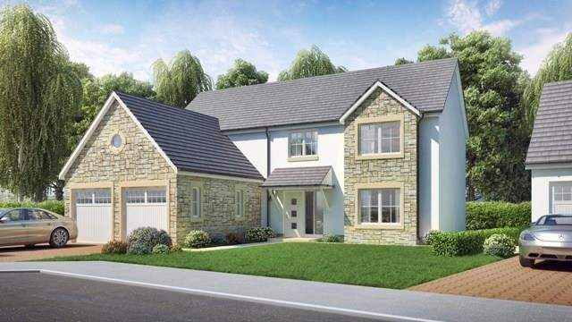 Thumbnail Detached house for sale in The Powell, Levenfields, Kinross