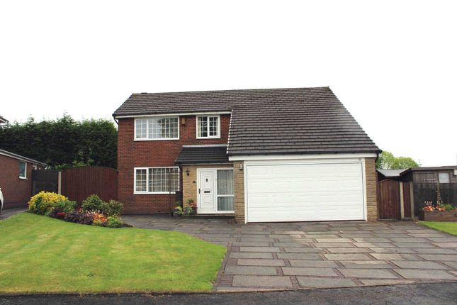 Thumbnail Detached house for sale in Birchfield Grove, Bolton