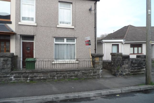 Semi-detached house for sale in Llewelyn Street, Trecynon, Aberdare