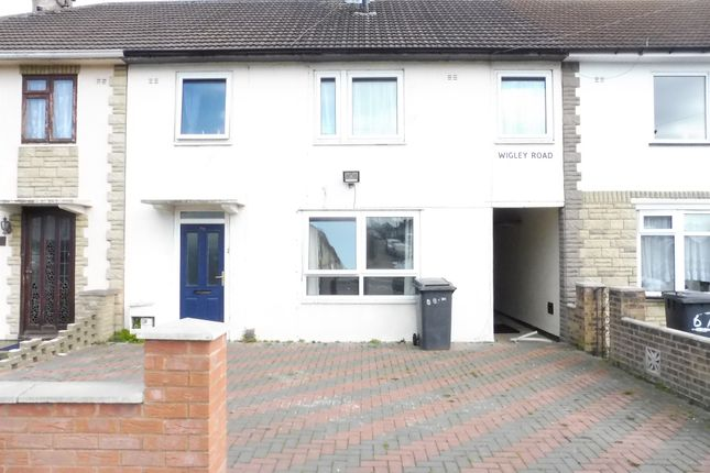 Thumbnail Town house for sale in Wigley Road, Netherhall, Leicester