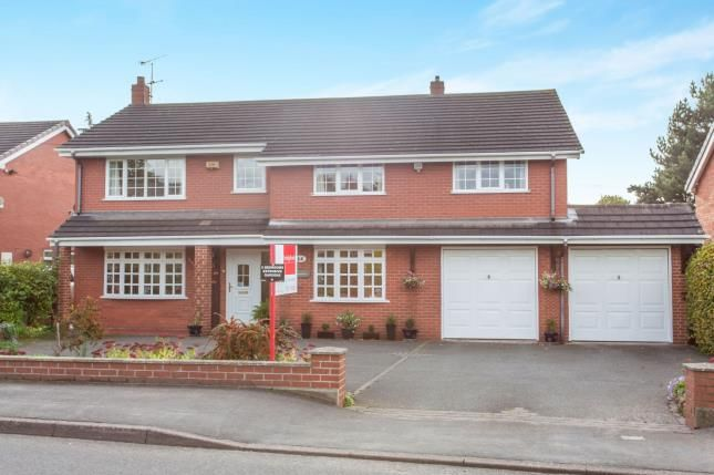 Thumbnail Detached house for sale in Close Lane, Alsager, Stoke On Trent, Staffordshire