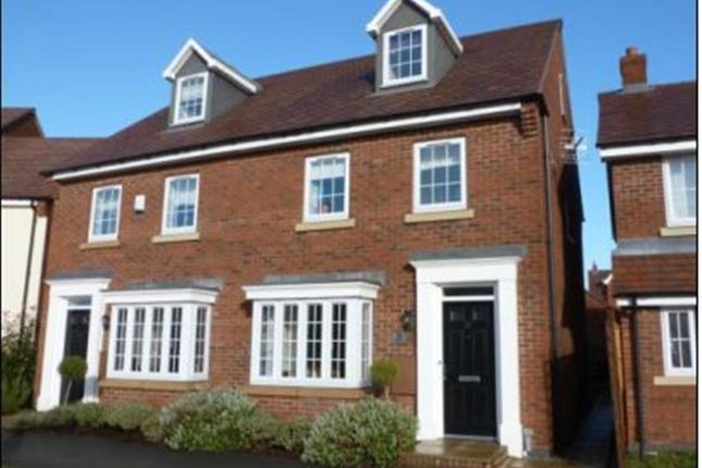 Thumbnail Town house for sale in Thistle Drive, Desborough, Kettering