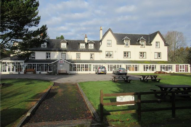 Thumbnail Hotel/guest house for sale in Garve Hotel, Garve, Highland