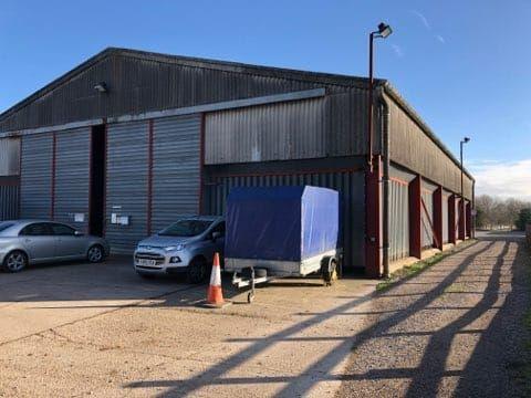 Thumbnail Warehouse to let in Willow Farm, Hawton