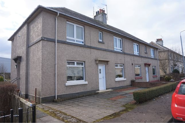 Thumbnail Flat for sale in Claremont Crescent, Kilwinning