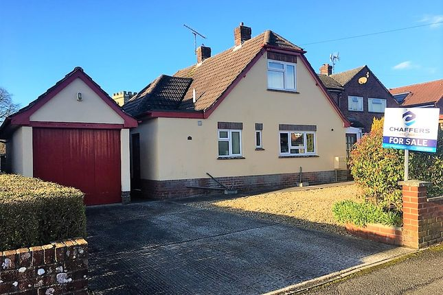 Thumbnail Detached bungalow for sale in Belmont Close, Shaftesbury