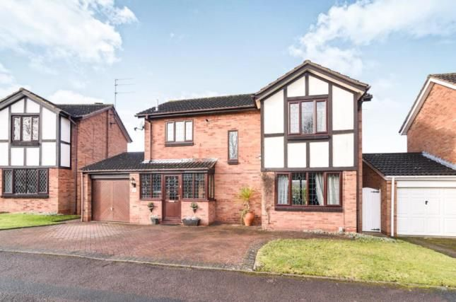 Thumbnail Detached house for sale in Goosehill Close, Redditch, Worcestershire