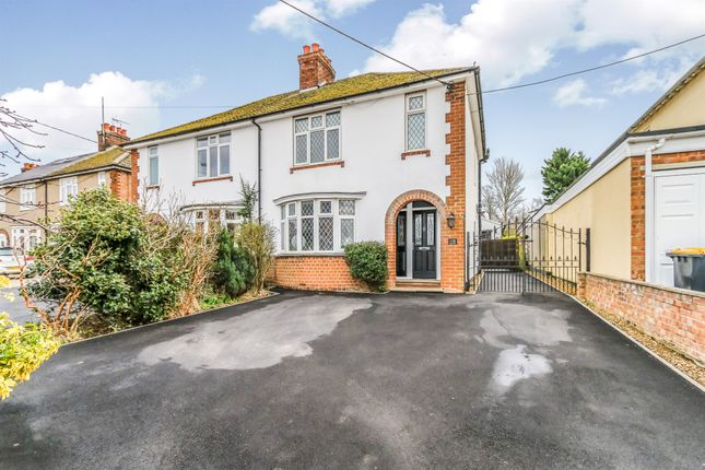 Thumbnail Semi-detached house for sale in Rushden Road, Wymington, Rushden