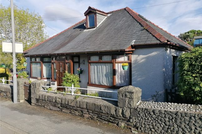 Thumbnail Bungalow for sale in Minffordd Road, Penrhyndeudraeth, Minffordd Road, Penrhyndeudraeth