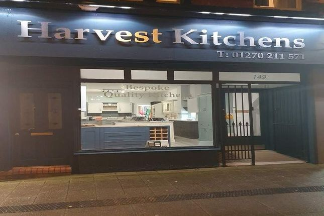 Thumbnail Retail premises for sale in Nantwich Road, Crewe