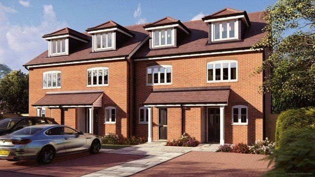 Thumbnail Terraced house for sale in Bisley, Woking, Surrey