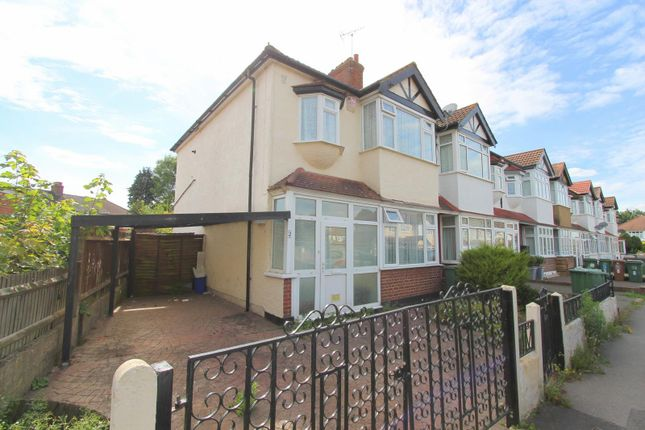 Thumbnail End terrace house for sale in Gomshall Avenue, Wallington
