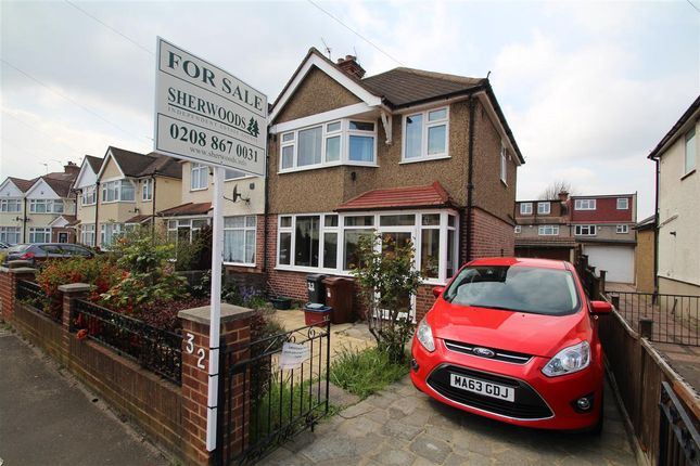 Thumbnail Semi-detached house for sale in Iverna Gardens, Feltham