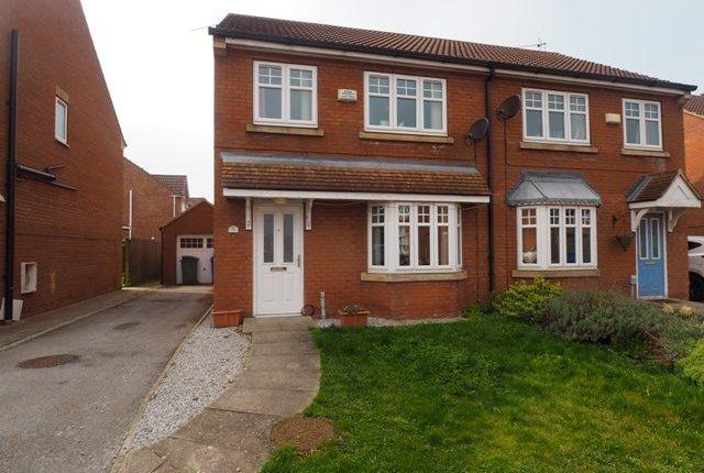 Thumbnail Semi-detached house for sale in Ravenser Court, Hedon