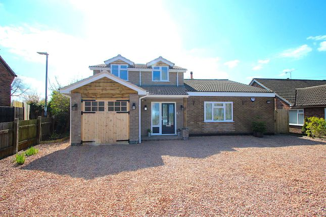 Thumbnail Detached bungalow for sale in Uppingham Road, Houghton-On-The-Hill, Leicester