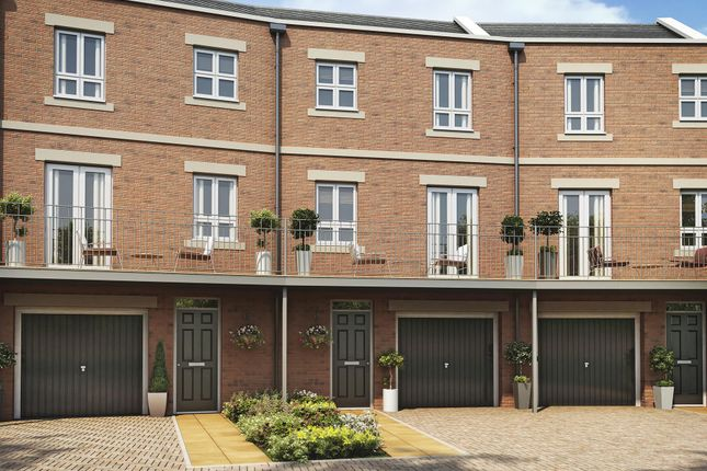"Thumbnail End terrace house for sale in ""Highclere"" at Racecourse Road, Newbury"