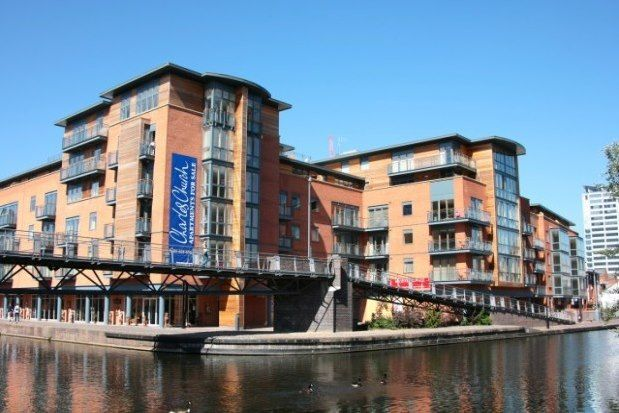 Thumbnail 1 bed flat to rent in 20 Waterfront Walk, Birmingham