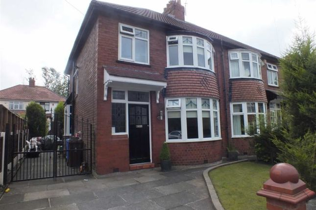 Thumbnail Semi-detached house for sale in Grange Park Avenue, Ashton-Under-Lyne