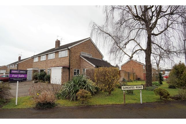Thumbnail Semi-detached house for sale in Jolyffe Park Road, Stratford-Upon-Avon