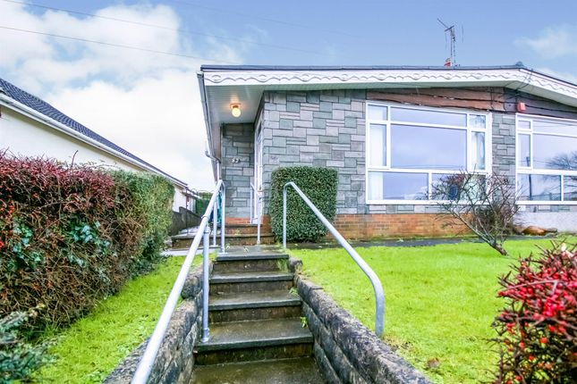 Thumbnail Semi-detached bungalow for sale in Heol Fach, North Cornelly, Bridgend