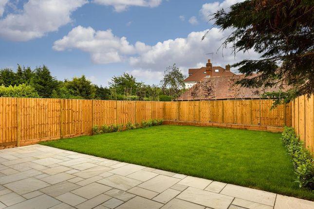 Rear Garden of Manor Road North, Hinchley Wood, Esher KT10