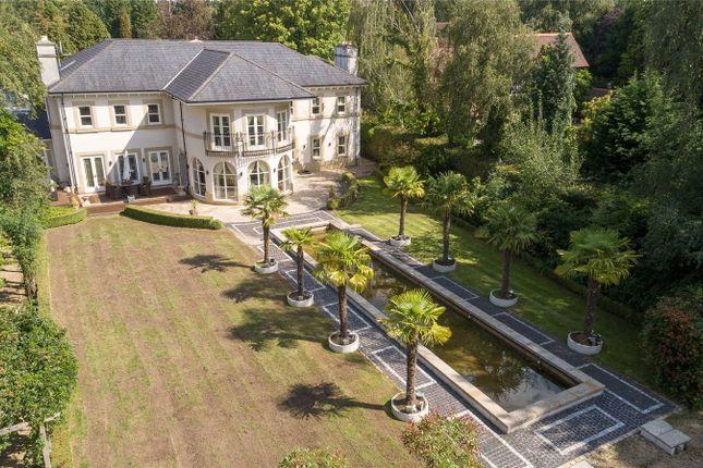 Aerial View of Carrwood, Hale Barns, Altrincham WA15