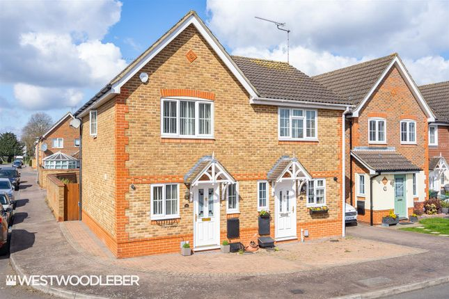 2 bed semi-detached house for sale in Dairyglen Avenue, Cheshunt, Waltham Cross EN8