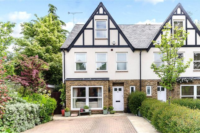 Thumbnail End terrace house to rent in Hillside Road, Chorleywood, Rickmansworth, Hertfordshire