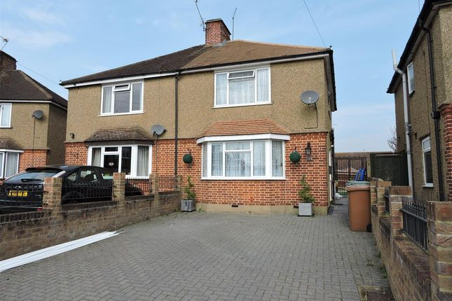 Thumbnail Semi-detached house to rent in Maxwell Close, Rickmansworth, Rickmansworth