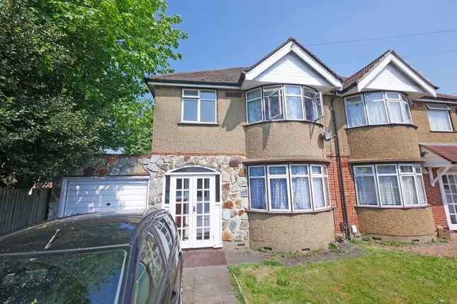 Thumbnail Semi-detached house to rent in Ashdown Road, Hillingdon, Uxbridge