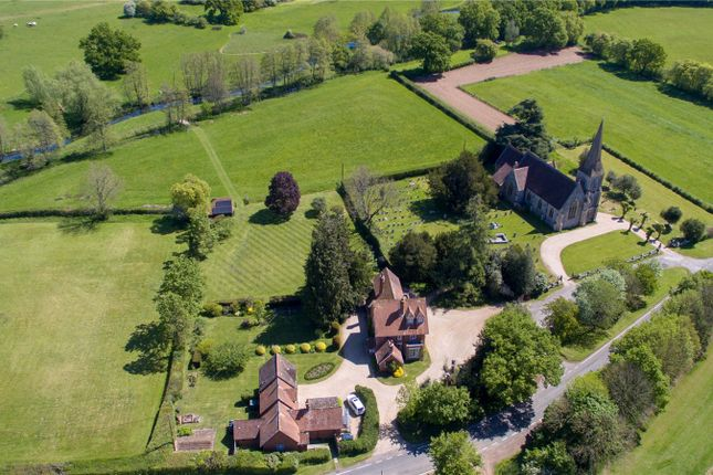Thumbnail Detached house for sale in Lockerley, Romsey, Hampshire