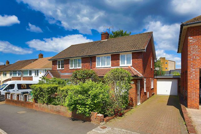 Thumbnail Semi-detached house for sale in Celyn Avenue, Lakeside, Cardiff