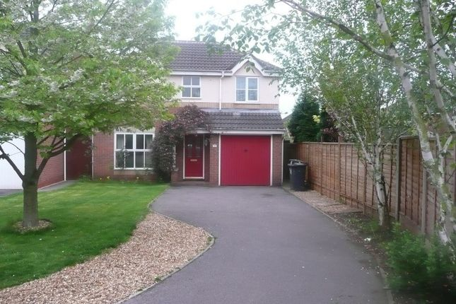 Thumbnail Detached house to rent in Greenfield Road, Measham, Swadlincote