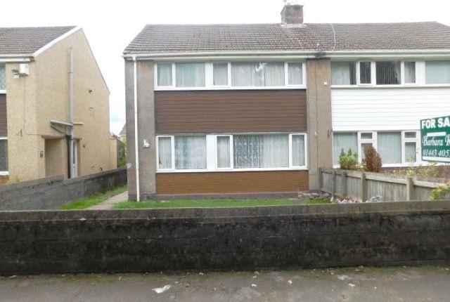 Thumbnail Semi-detached house for sale in Heol Y Mynydd, Church Village