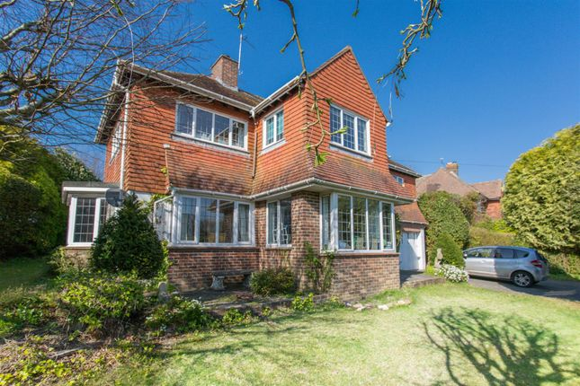 Thumbnail Detached house for sale in Houndean Rise, Lewes