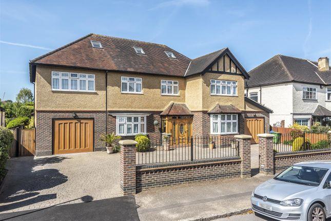 Thumbnail Detached house for sale in Regent Road, Berrylands, Surbiton