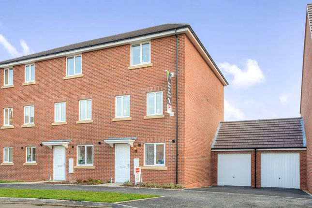 Thumbnail End terrace house for sale in Anglian Way, Stoke, Coventry