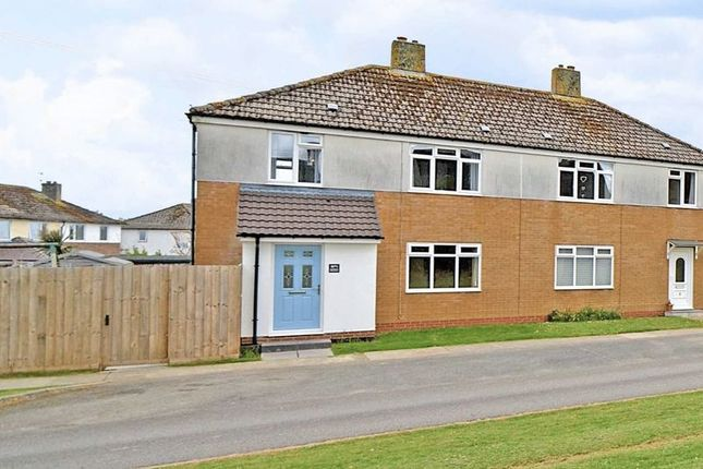Thumbnail Semi-detached house for sale in Warwick Crescent, St. Eval, Wadebridge